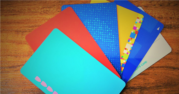ICカードや磁気カード